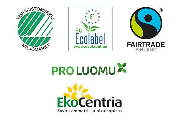 Ympäristömerkki Tuotteet