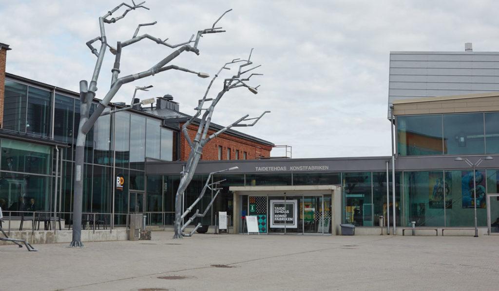 Porvoon Taidetehtaan kokous- ja kongressitoiminnalle Joutsenmerkki - Joutsenmerkki